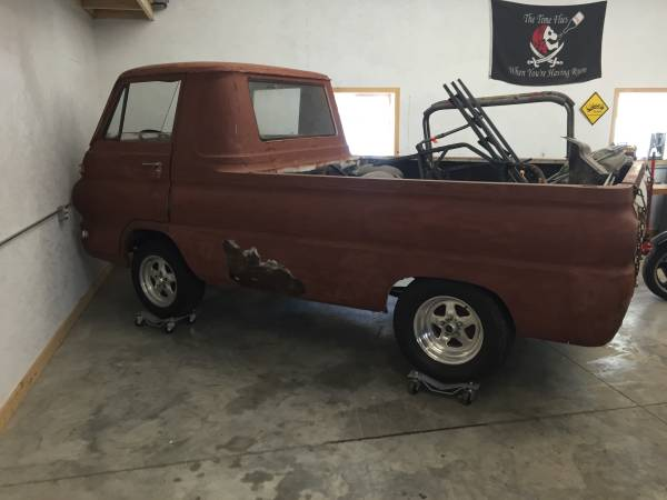 1965 dodge a100 pickup truck for sale in laconaa new york 3 5k. Black Bedroom Furniture Sets. Home Design Ideas