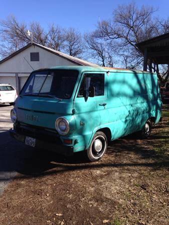 1966 Dodge A100 Van For Sale in Lewisville, Texas | $2.9K