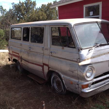 1968 Dodge A100 Van For Sale in Alpine, Texas | $500