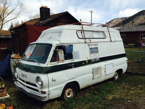 1967 Dodge A100 Camper Van For Sale in Jackson, Wyoming | $9 5K