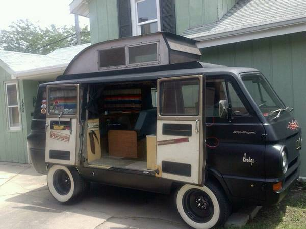 1966 Dodge A100 Camper Van For Sale In Chicago Illinois