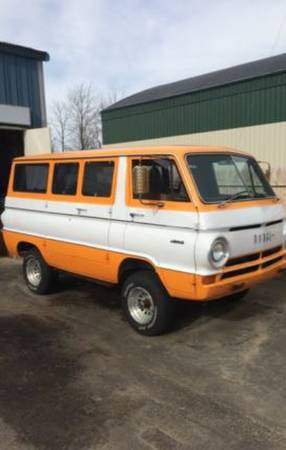 1966 Dodge A100 Van For Sale in New Hampshire | $8,000