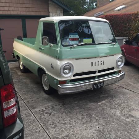1968 dodge a100 pickup truck for sale in san antonio texas 8 5k. Black Bedroom Furniture Sets. Home Design Ideas