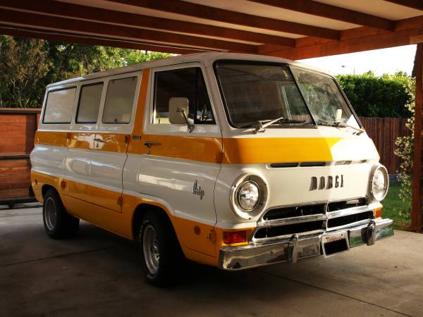 1969 Dodge A100 Van Truck For Sale In Los Angeles