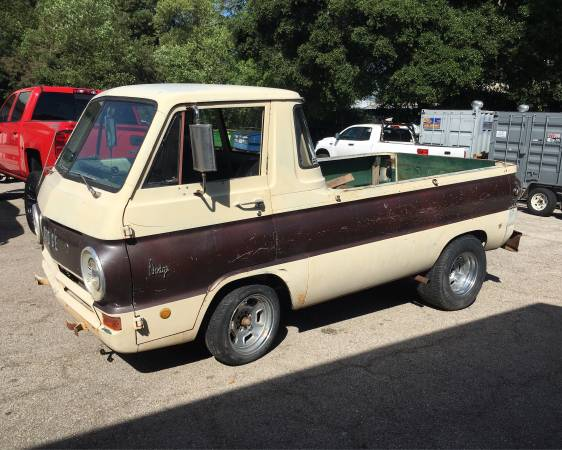 1969 dodge a100 pickup truck for sale in santa cruz. Black Bedroom Furniture Sets. Home Design Ideas
