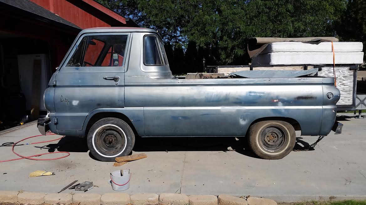 1966 dodge a100 pickup truck for sale in caldwell idaho 3 5k. Black Bedroom Furniture Sets. Home Design Ideas