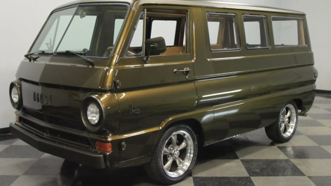 restored wood panel 1966 dodge a100 window van for sale charlotte  nc