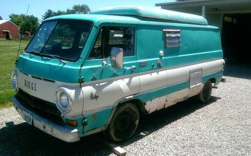 1969 dodge a100 townsman panel van for sale in columbus ohio. Black Bedroom Furniture Sets. Home Design Ideas