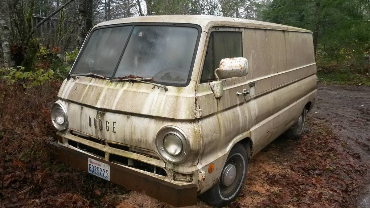 1969 dodge a100 cargo van slant 6 3spd man for sale in. Black Bedroom Furniture Sets. Home Design Ideas