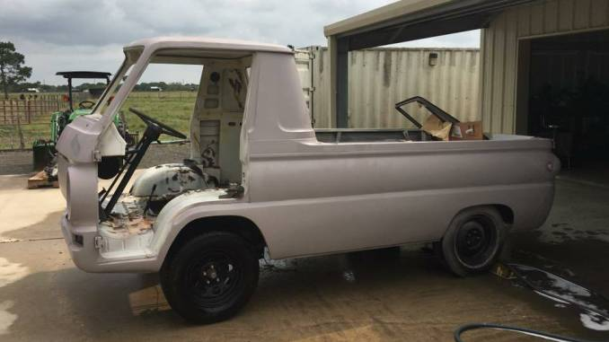 Dodge A100 Pickup For Sale Craigslist >> 1964 Dodge A100 Pickup Project For Sale / Trade Near Houston TX - $10K
