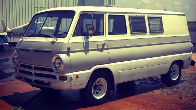 1969 dodge a108 4x4 weekender van for sale in atlanta georgia. Black Bedroom Furniture Sets. Home Design Ideas