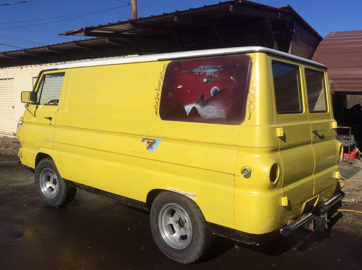 1965 Dodge A100 Custom Vintage Panel Van For Sale In