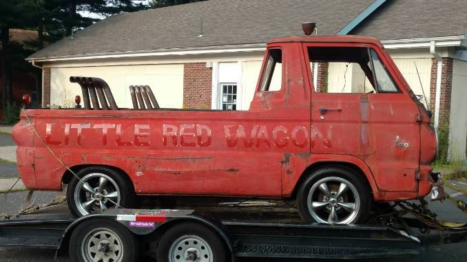 "1965 Dodge A100 ""Little Red Wagon"" Project For Sale in ..."