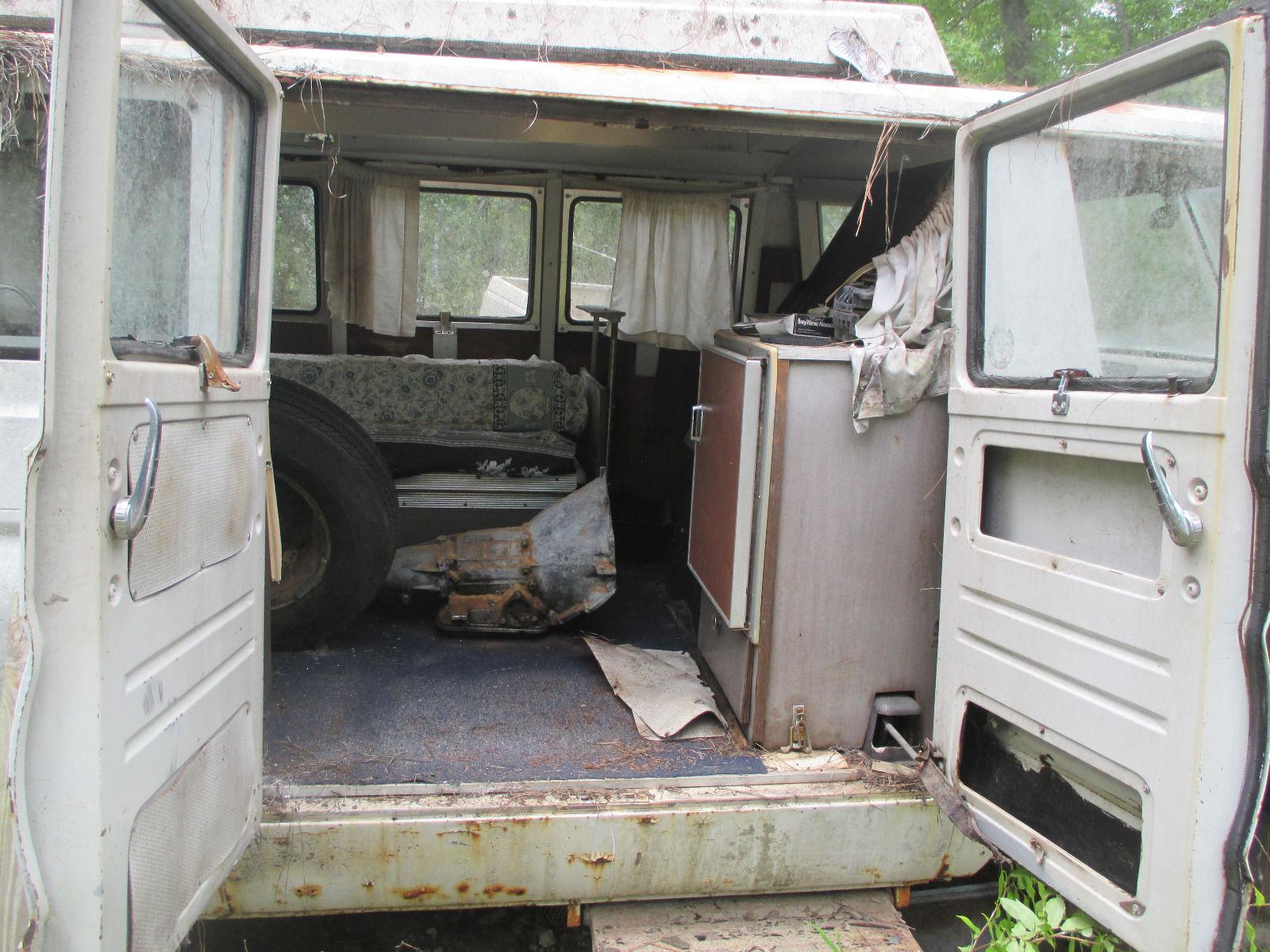 1965 Dodge A100 Sportsman Camper Parts Car For Sale in ...