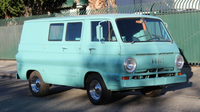 Dodge A100 For Sale >> 1966 Dodge A100 Panel Van For Sale In Los Angeles California 5k