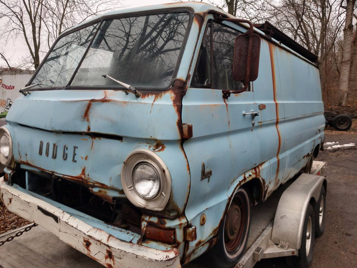 1969 Dodge A100 V8 Auto Panel Van Project For Sale in ...