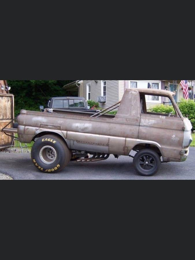 1967 Dodge A100 Pickup Project For Sale in Spokane ...