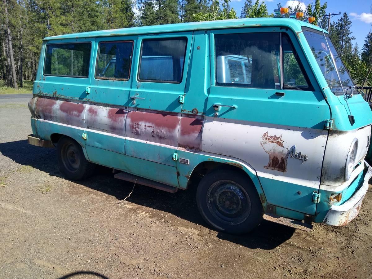 1966 Dodge A100 Van For Sale in Cheney, Washington | $600