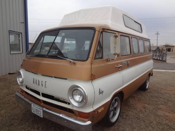 1970 Dodge A100 Camper R.V. Van For Sale in Oklahoma City ...