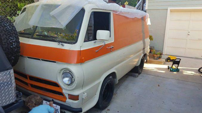 1967 Dodge Van Custom Project For Sale in San Rafael ...
