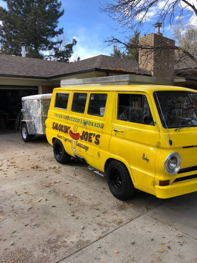 1966 Dodge A100 Van 318 Automatic For Sale in Denver ...